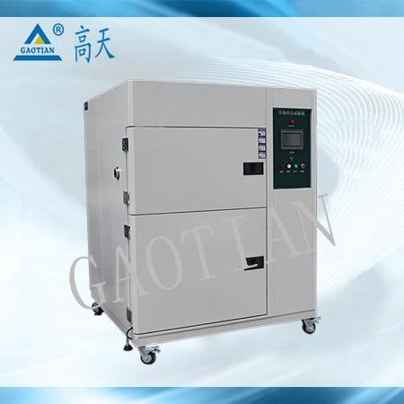80L高低温瞬间转换冲击试验箱